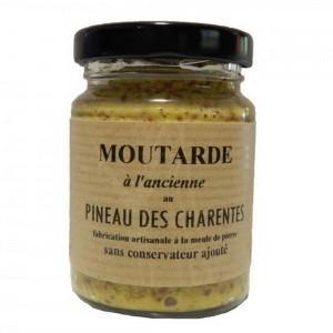 Moutarde charentaise au Pineau