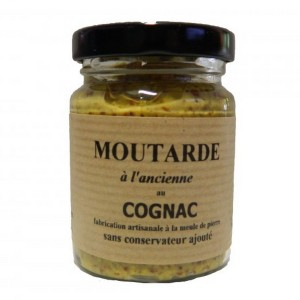 Moutarde charentaise au Cognac