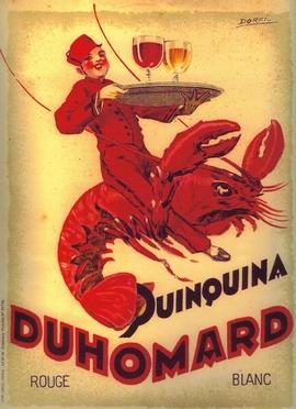 affiche ancienne Duhomard