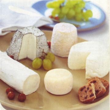 plateau de fromages de chèvre du Poitou